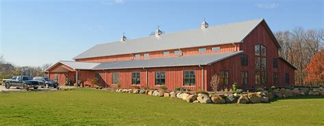 ranch building post frame steel buildings ag equestrian commercial