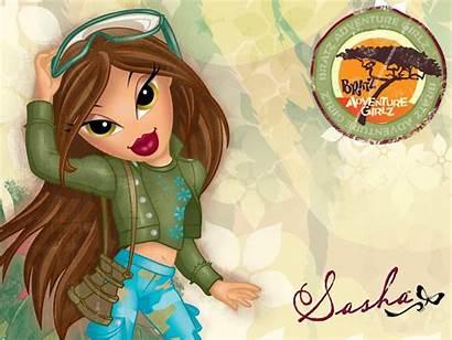 Bratz Girlz Sasha Wallpapers Adventure Desktop Cartoon
