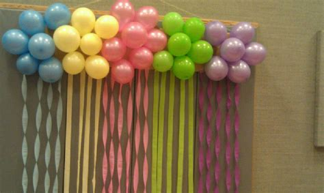 Decorating Ideas With Streamers by Decorating Streamers Balloons Balloon Cluster Decoration