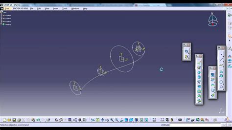catia basics multi section surface  guides youtube