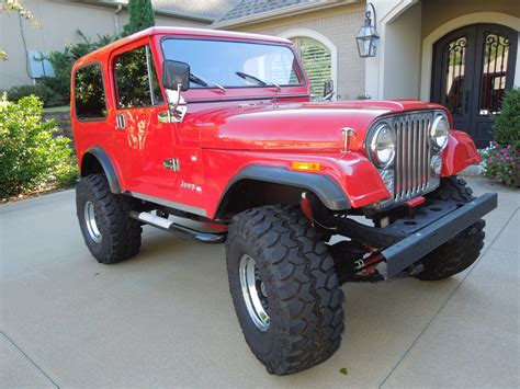 Jeep CJ7 Lifted For Sale   image #226