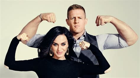 katy perry  jj watt talk success