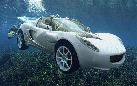 Rinspeed sQuba. A fully electric, amphibious Lotus Elise ...