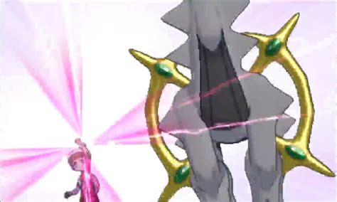 Arceus Mega Evolving To Two Different Forms