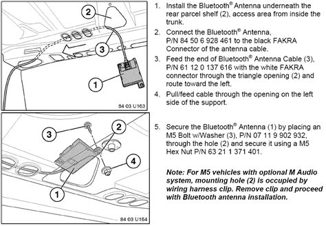 bmw bluetooth e46 installation bimmernav