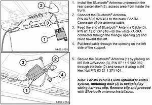 Bmw E39 Bluetooth Installation Instructions