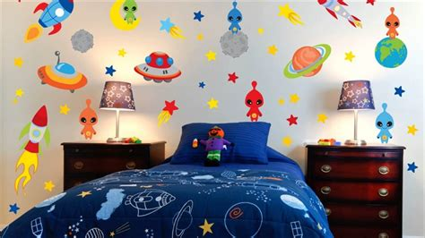 Space Theme Room For Kids-youtube