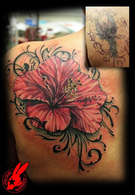 tribal tattoo cover  ideas  pinterest side
