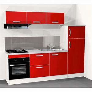 cuisine rouge ikea occasion With organisation cuisine