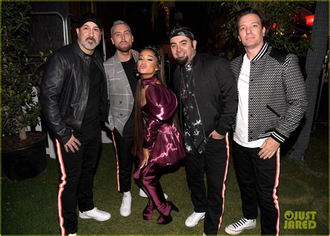 Nsync Join Ariana Grande On Stage For Coachella Set