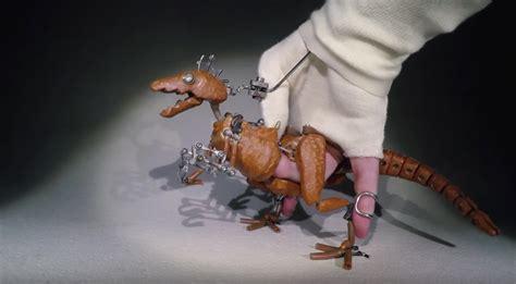 barnaby dixons raptor puppet  kid