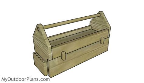 wood tool box  drawer plans myoutdoorplans  woodworking plans  projects diy shed