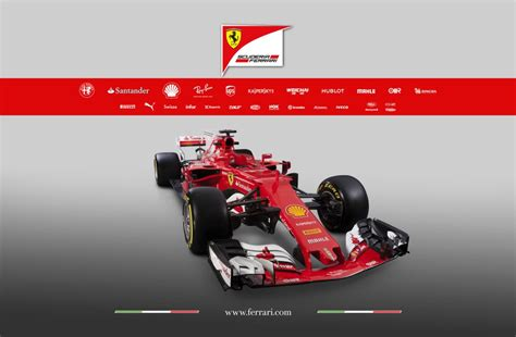 car ferrari 2017 official 2017 ferrari sf70h f1 car gtspirit