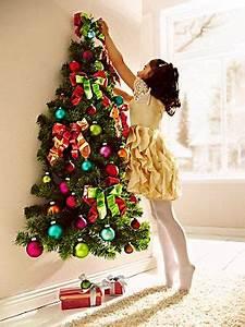 Weihnachtsbaum Mit Rosa Kugeln : wand weihnachtsbaum mit kugeln wir weihnachten ~ Orissabook.com Haus und Dekorationen