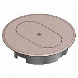 carlon e97dst duplex receptacle round floor box cover With carlon floor outlet