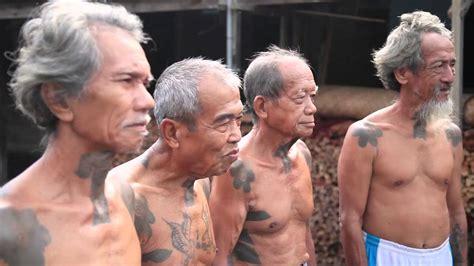 tribal tattoo  dayak iban youtube