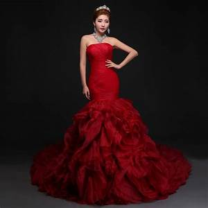 popular red rose wedding dresses buy cheap red rose With rose wedding dress