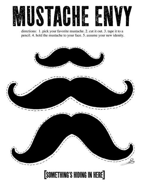 Mustache Template On Pinterest  Mustache Photo Booths