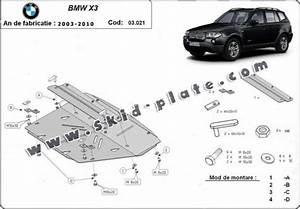 Bmw X3 Skid Plate Diagram  Bmw  Auto Parts Catalog And Diagram