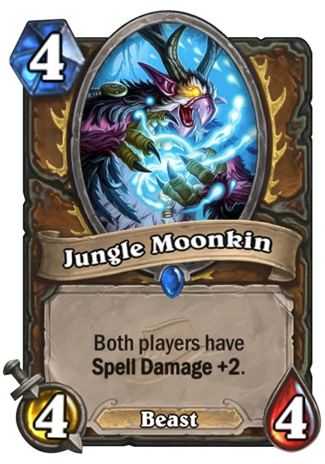 hearthstone beast deck 2015 jungle moonkin hearthstone card