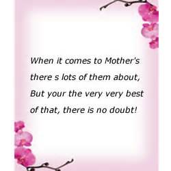rhyming mothers day quotes quotesgram