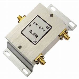 1 To 2 Sma Connector Antenna Splitter Combiner