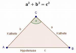 Katheten Berechnen : satz des pythagoras der beweis aufgaben und rechnung ~ Themetempest.com Abrechnung