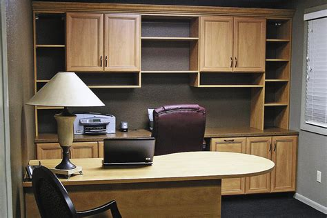 using kitchen cabinets for home office diy built in desk using kitchen cabinets after cutting 9576