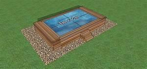 Piscine Semi Enterré Bois : mini piscine en bois les formes ~ Premium-room.com Idées de Décoration