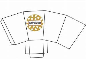 glam mom39s night out cocktail party myprintly With popcorn container template