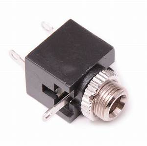 4x 3 5mm Mono Female Switched Socket Audio Adapter
