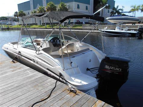 Hurricane Deck Boats Cape Coral by 22 Hurricane 2200 Sundeck Rental Boat Rentals Cape Coral