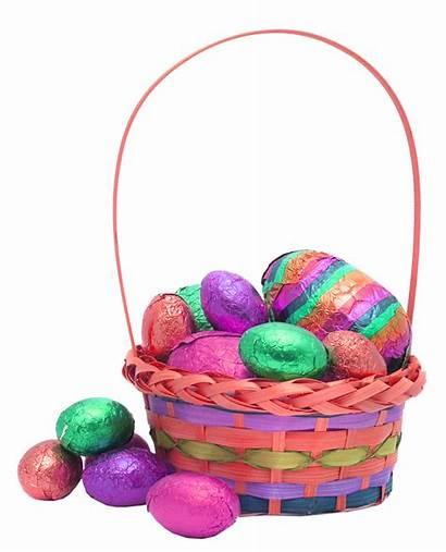 Easter Transparent Basket Egg Backgrounds Eggs Bunny