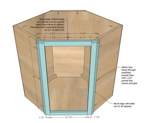how to build a corner cabinet for a tv ana white build a wall kitchen corner cabinet free and