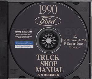 1990 Ford Truck 6 6 And 7 8 Diesel Engine Repair Shop Manual