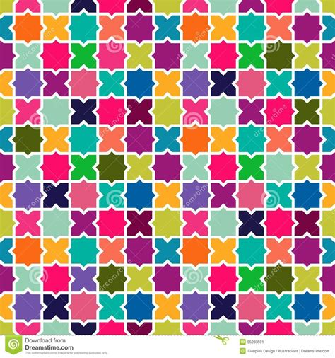 abstract colorful mosaic pattern background stock vector