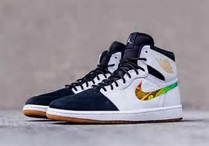 Nike Light Blue Shoes by Air Jordan 1 Nouveau White Black Gum Light Brown Sneaker