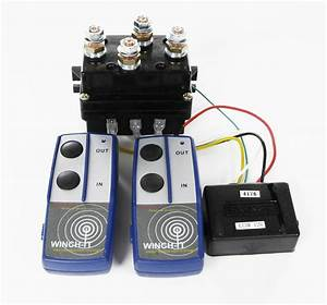 12v Hd Contactor Winch Control Solenoid Twin Wireless