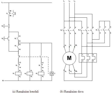rangkaian delta pada motor listrik 3 phasa mechanical engineering