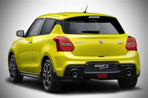 2018 Suzuki Swift Sport Makes Its Debut At The Iaa 2017