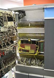 Examining The Core Memory Module Inside A Vintage Ibm 1401