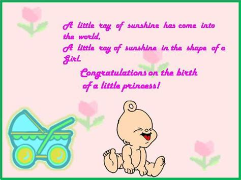 Congrats On The Birth Of A Daughter. Free New Baby Ecards