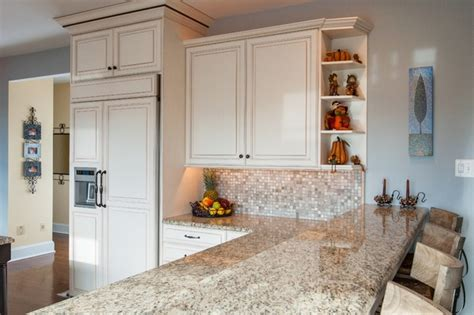 kitchens with ornamental white granite small kitchen