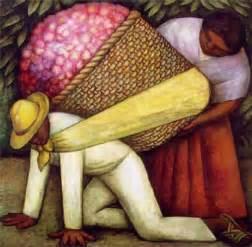 El porteador de flores, de Diego Rivera