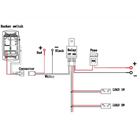 Wiring A Switch To An Schematic by Quality Assurance Momentary Carling Lighted 5 Terminals 5