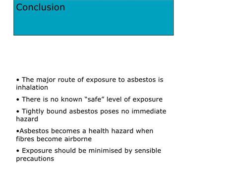 health effects  asbestos exposure