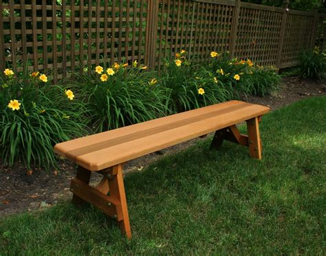 Traditional Benches by Cedar Traditional Bench