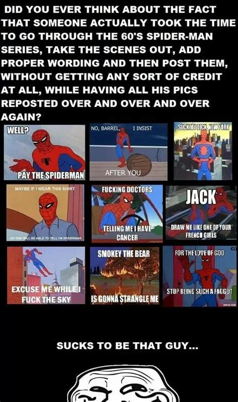 Spiderman Meme Creator - 161 best images about 60 s spider man memes on pinterest funny smosh and meme pictures