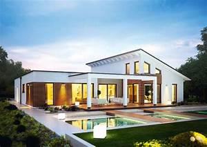 Haus Bausatz Bungalow : 25 b sta id erna om luxus fertighaus p pinterest hus traumhaus och fertighaus bauen ~ Whattoseeinmadrid.com Haus und Dekorationen