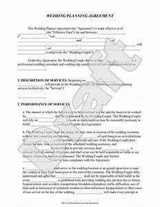 day of wedding coordinator contract template mini bridal With wedding planner contract agreement